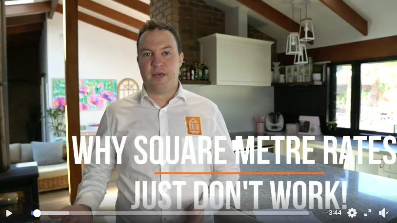 Why square metre rates just don't work